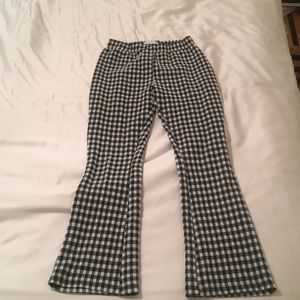 Urban outfitters gingham pattern pants